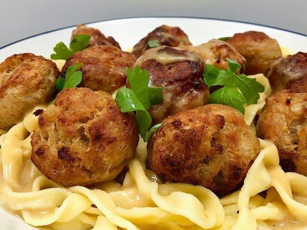korkers swedish style meatballs